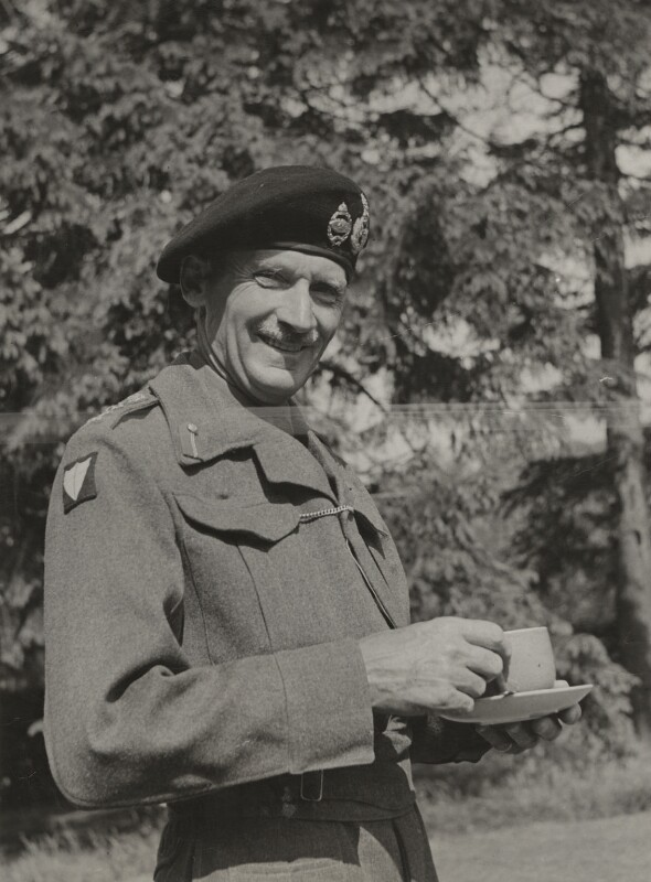 Bernard Law Montgomery, 1st Viscount Montgomery of Alamein, by (Edward) Russell Westwood, 1940s - NPG x35258 - © estate of Russell Westwood / National Portrait Gallery, London