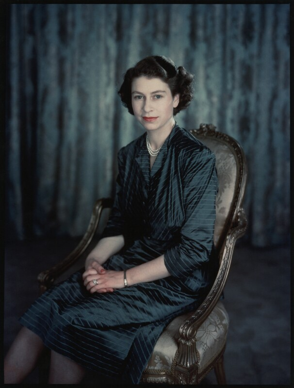 Queen Elizabeth II, by Baron (Sterling Henry Nahum), 1949 - NPG x35387 - © Baron/Camera Press