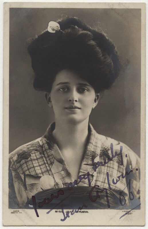 Jean Aylwin, published by Rapid Photo Co, circa 1906 - NPG x354 - © National Portrait Gallery, London