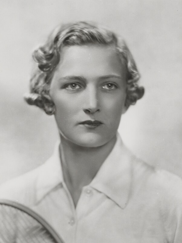 Helen Hull Jacobs, by Dorothy Wilding, 1935 - NPG x35413 - © William Hustler and Georgina Hustler / National Portrait Gallery, London
