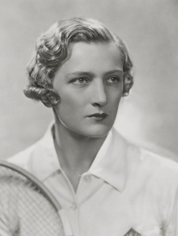 Helen Hull Jacobs, by Dorothy Wilding, 1935 - NPG x35414 - © William Hustler and Georgina Hustler / National Portrait Gallery, London