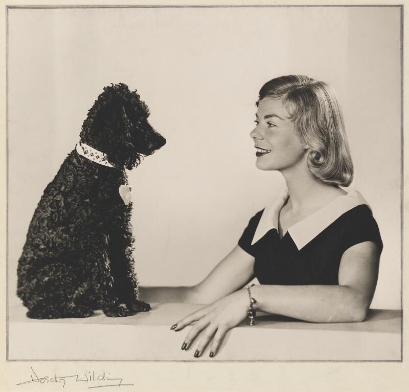Katharine Lucy Mary Worsley, Duchess of Kent, by Dorothy Wilding, 1957-1958 - NPG x35495 - © William Hustler and Georgina Hustler / National Portrait Gallery, London