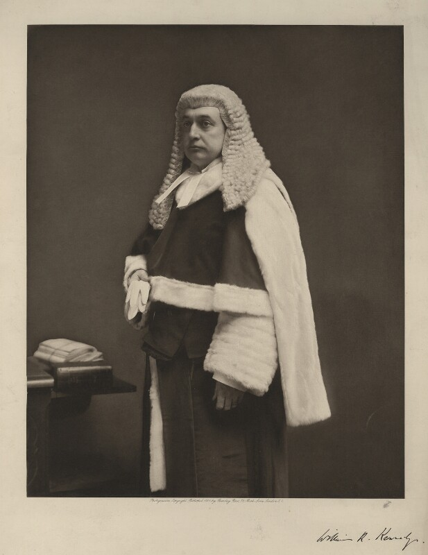 Sir William Rann Kennedy, by Unknown photographer, early 1900s - NPG x35957 - © National Portrait Gallery, London