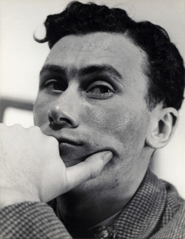 John Osborne, by Georges Maiteny, 1950s - NPG x36178 - © estate of Georges Maiteny