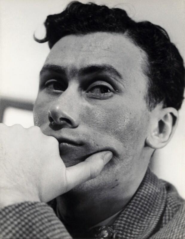 John Osborne, by Georges Maiteny, 1950s - NPG x36178 - © estate of Georges Maiteny