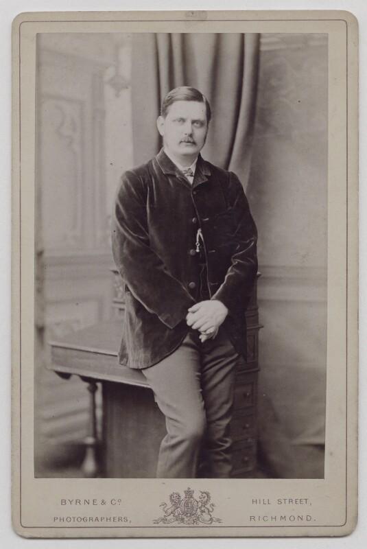 Sir Dawson Williams, by Byrne & Co, circa 1885 - NPG x36191 - © National Portrait Gallery, London