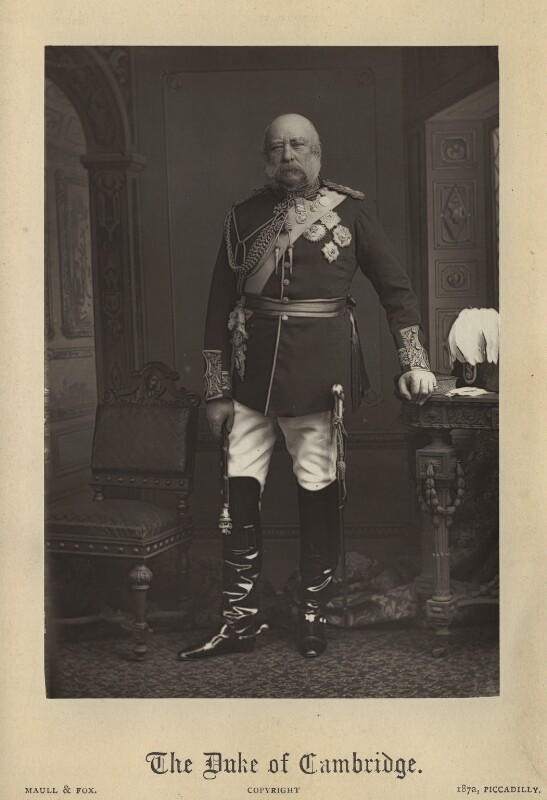 Prince George William Frederick Charles, 2nd Duke of Cambridge, by Maull & Fox, circa 1895 - NPG x36195 - © National Portrait Gallery, London
