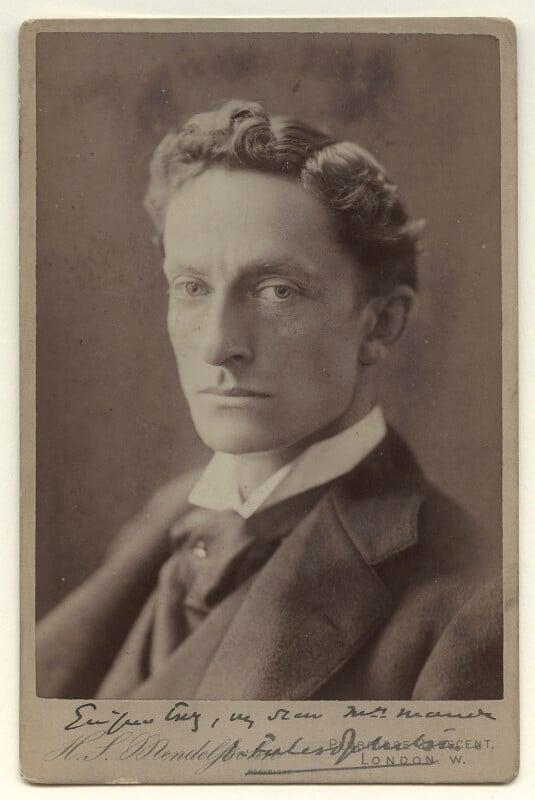 Sir Johnston Forbes-Robertson, by Hayman Seleg Mendelssohn, after 1889 - NPG x36212 - © National Portrait Gallery, London