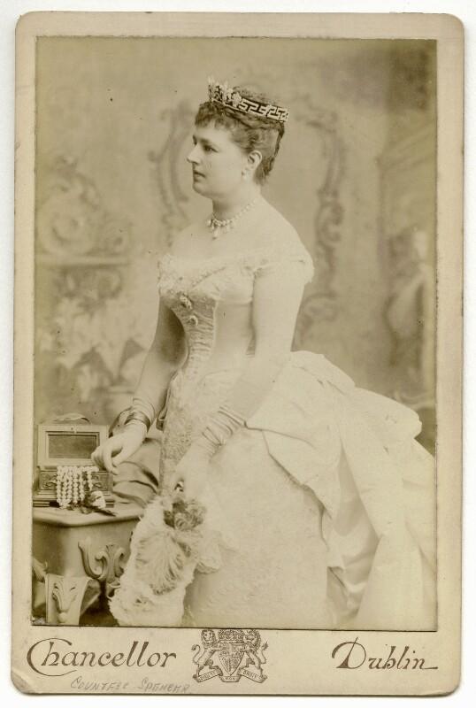Charlotte Frances Frederica Spencer (née Seymour), Countess Spencer, by John Chancellor, 1880s - NPG x36224 - © National Portrait Gallery, London