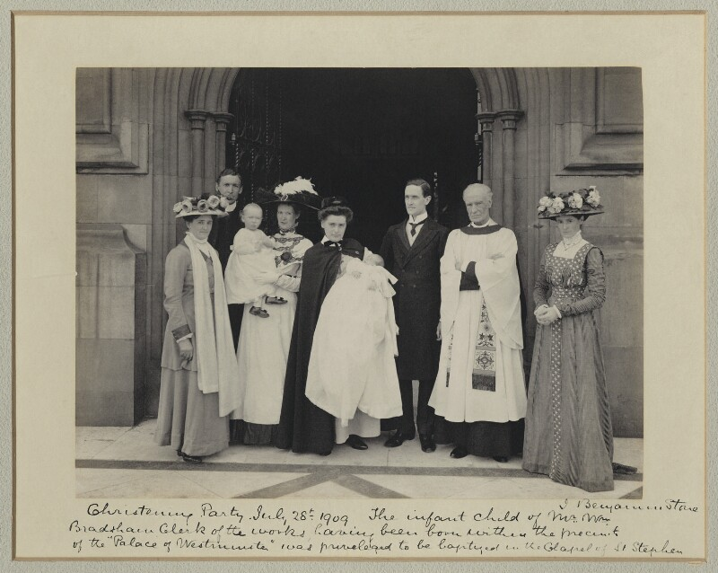 'Christening Party', by Benjamin Stone, 28 July 1909 - NPG x36247 - © National Portrait Gallery, London