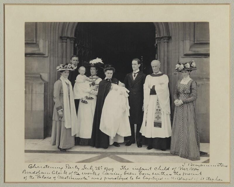 'Christening Party', by Sir (John) Benjamin Stone, 28 July 1909 - NPG x36247 - © National Portrait Gallery, London