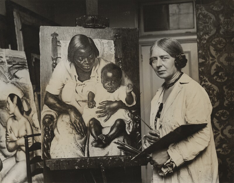 Laura Knight, by Press Association Photos, 1927 - NPG x36249 - © National Portrait Gallery, London