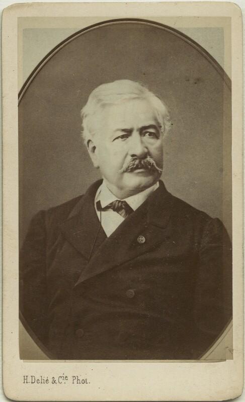 Ferdinand Marie de Lesseps, Vicomte de Lesseps, by H. Delie & Cie, 1870s - NPG x36277 - © National Portrait Gallery, London
