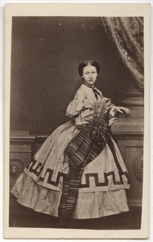 Princess Helena Augusta Victoria of Schleswig-Holstein, by John Jabez Edwin Mayall, February 1861 - NPG x36353 - © National Portrait Gallery, London
