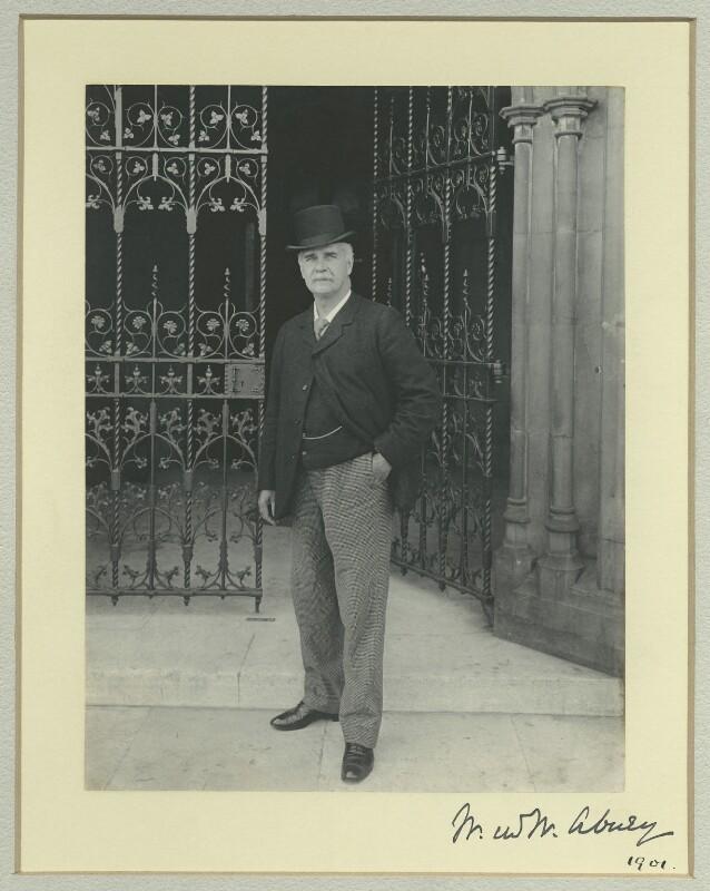 Sir William De Wive-Leslie Abney, by Sir (John) Benjamin Stone, 1901 - NPG x36461 - © National Portrait Gallery, London