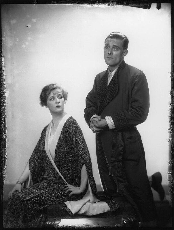 Lawrence Anderson as Albert; Margaret Bannerman as Princess Zetia in 'The Grand Duchess', by Dorothy Wilding, 1925 - NPG x36704 - © William Hustler and Georgina Hustler / National Portrait Gallery, London