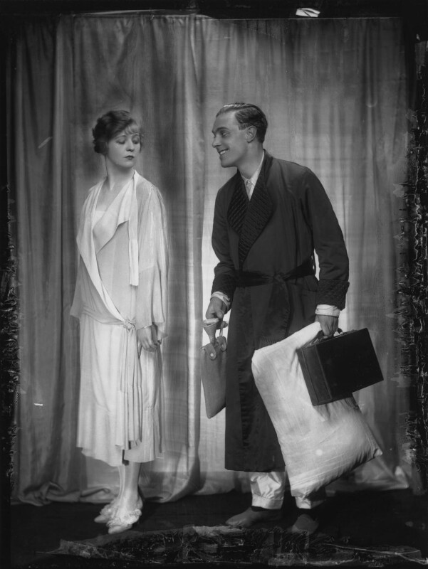 Lawrence Anderson as Albert; Margaret Bannerman as Princess Zetia in 'The Grand Duchess', by Dorothy Wilding, 1925 - NPG x36707 - © William Hustler and Georgina Hustler / National Portrait Gallery, London