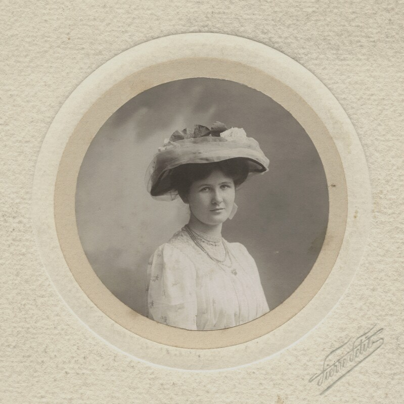 Angela Thirkell, by Pierre Petit, June 1907 - NPG x3719 - © National Portrait Gallery, London