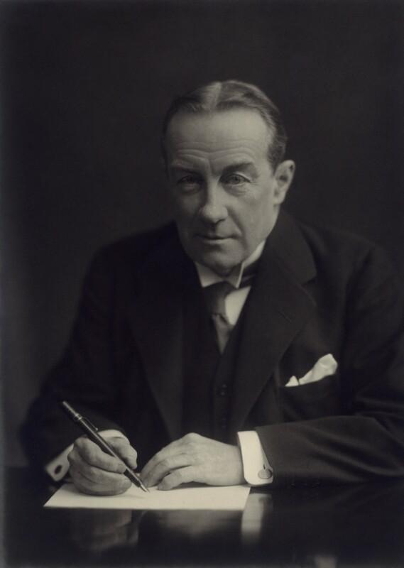 Stanley Baldwin, 1st Earl Baldwin, by Vandyk, 1 February 1927 - NPG x372 - © National Portrait Gallery, London