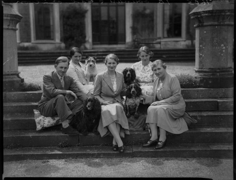 The Courtenay family, by Bassano Ltd, 27 July 1936 - NPG x37465 - © National Portrait Gallery, London