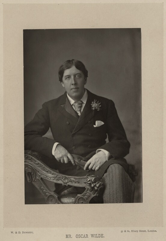 Oscar Wilde, by W. & D. Downey, 28 May 1889, published 1891 - NPG x27397 - © National Portrait Gallery, London