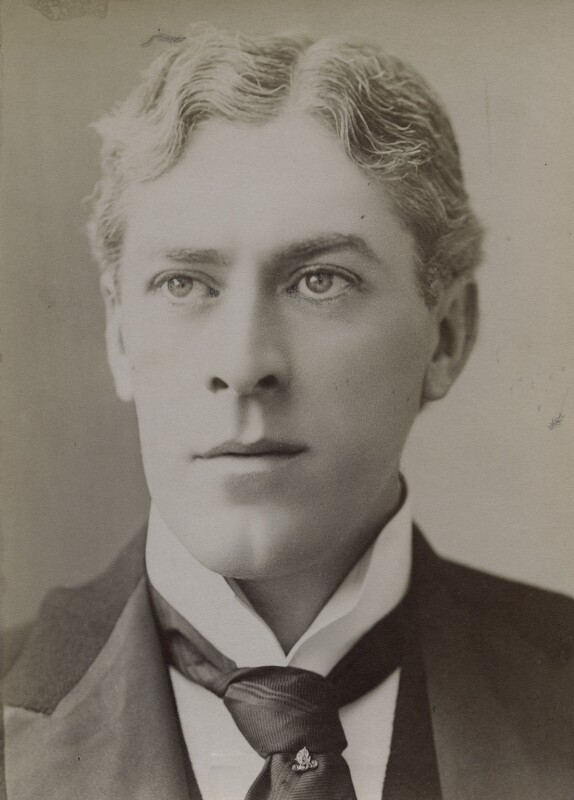 Sir George Alexander (George Samson), by Unknown photographer, 1880s-1890s - NPG x3770 - © National Portrait Gallery, London