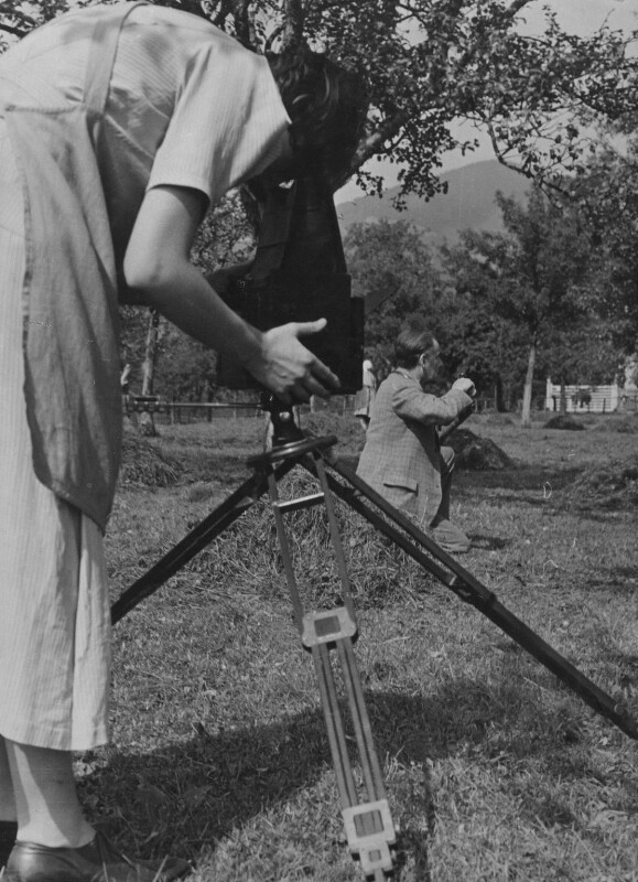 Barbara Strachey, by E.O. Hoppé, 1935 - NPG Ax88535 - © 2018 E.O. Hoppé Estate Collection / Curatorial Assistance Inc.