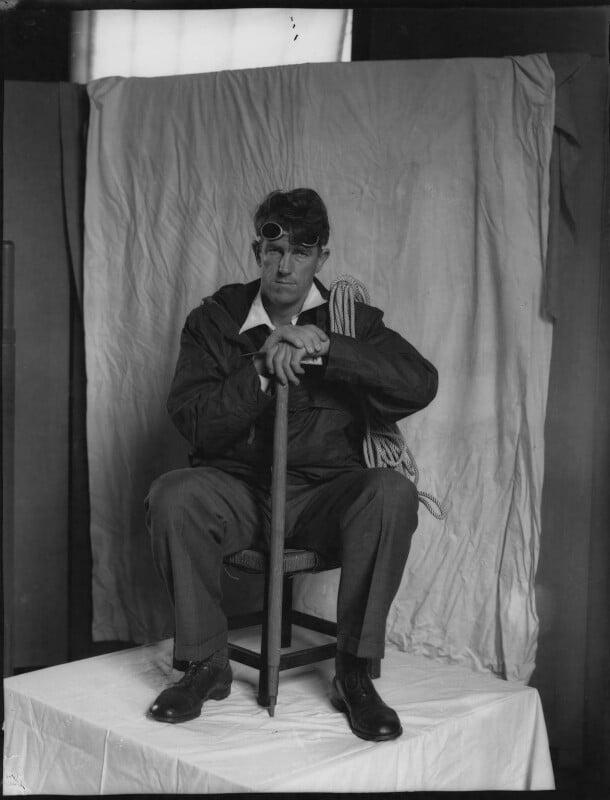 Sir Edmund Percival Hillary, by Paul Laib, 1955 - NPG x38209 - The de Laslzo Collection of Paul Laib Negatives, Witt Library, The Courtauld Institute of Art, London © The de Laslzo Foundation