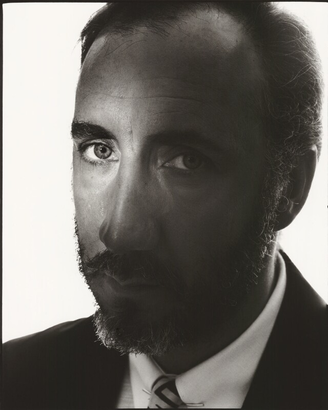 Pete Townshend, by John Swannell, 1989 - NPG x38278 - © John Swannell / Camera Press