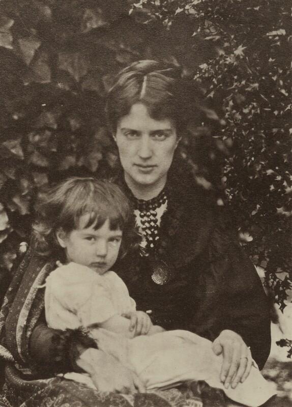 Michael Stillman; Marie Stillman (née Spartali), by Unknown photographer, printed by  Emery Walker Ltd, circa 1880 - NPG x38857 - © National Portrait Gallery, London