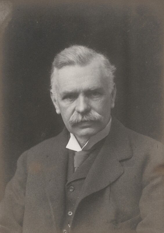 Richard Dixon Oldham, by Walter Stoneman, 1917 - NPG x38972 - © National Portrait Gallery, London