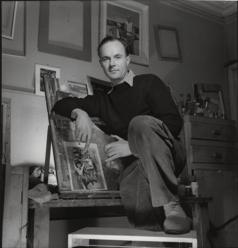 Keith Vaughan, by Francis Goodman, 16 January 1947 - NPG x39559 - © National Portrait Gallery, London