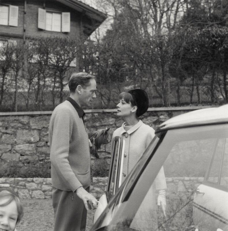 Sean Hepburn Ferrer; Melchior Gaston ('Mel') Ferrer; Audrey Hepburn, by Cecil Beaton, March 1964 - NPG x40187 - © Cecil Beaton Studio Archive, Sotheby's London