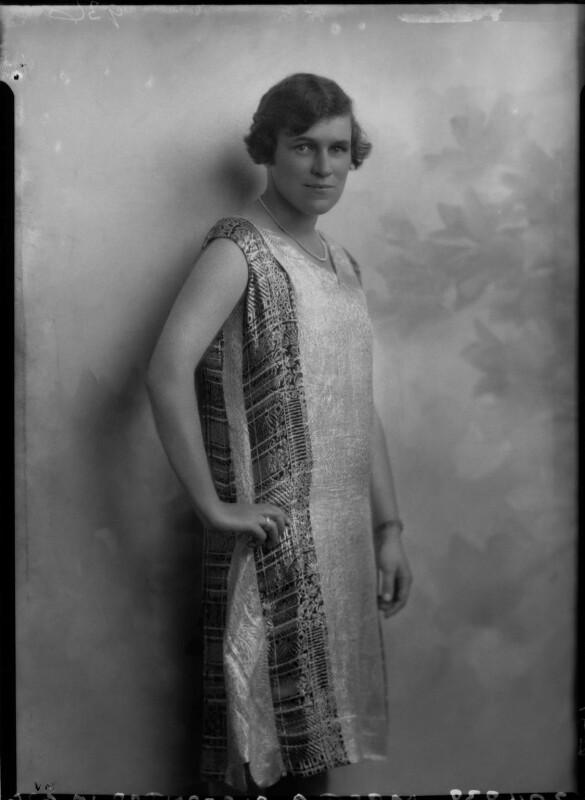 Gertrude Alexander Okeden (née Williams), by Lafayette (Lafayette Ltd), 10 August 1926 - NPG x41386 - © National Portrait Gallery, London