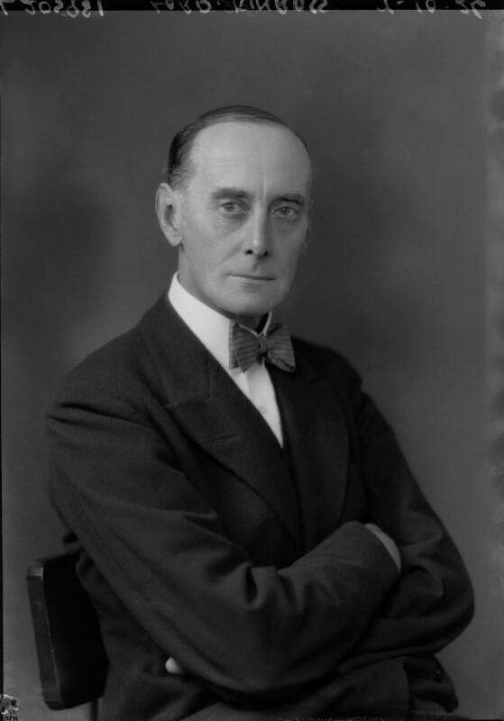 Patrick Balfour, 2nd Baron Kinross, by Lafayette, 7 October 1926 - NPG x41410 - © National Portrait Gallery, London