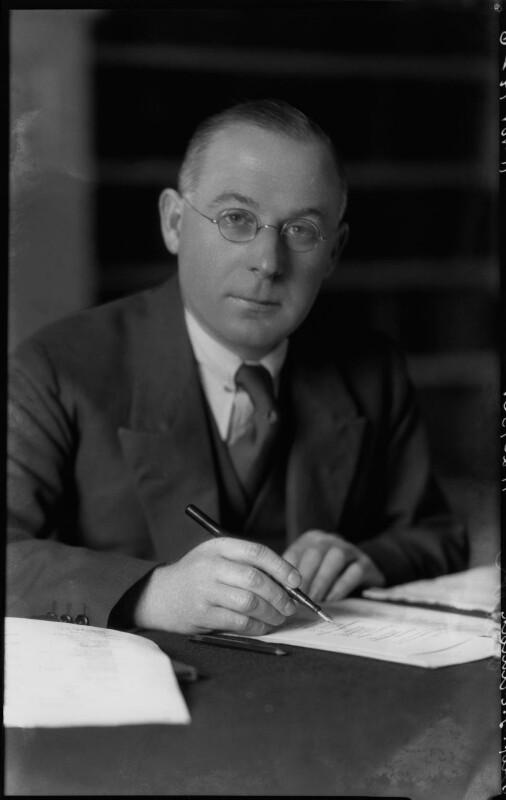 Sir Frank Ezra Adcock, by Lafayette, 11 November 1926 - NPG x41527 - © National Portrait Gallery, London