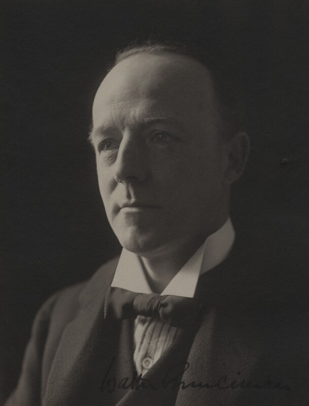 Walter Runciman, 1st Viscount Runciman, by (Mary) Olive Edis (Mrs Galsworthy), 1930s - NPG x4173 - © National Portrait Gallery, London