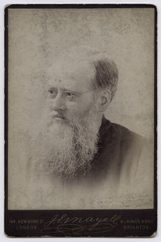 Wilkie Collins, by John Jabez Edwin Mayall, 1881-1885 - NPG x4183 - © National Portrait Gallery, London