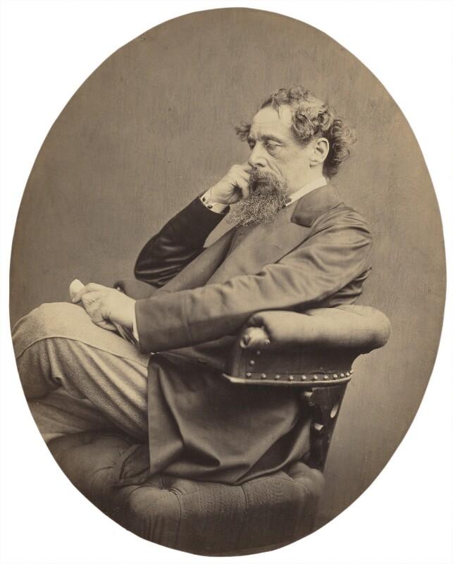 Charles Dickens, by John & Charles Watkins, September 1863 - NPG x14339 - © National Portrait Gallery, London
