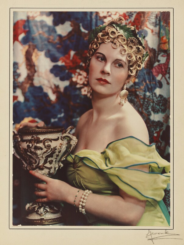 Lady Alexandra Henrietta Louisa Haig as Circe, by Madame Yevonde, March 1935 - NPG x32991 - © Yevonde Portrait Archive