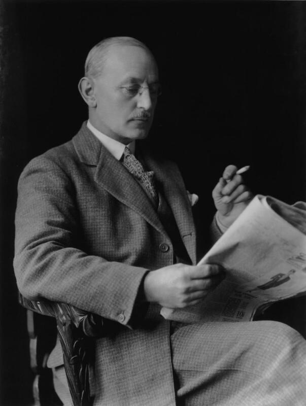 Charles Vernon Ommanney, by Lafayette (Lafayette Ltd), 25 February 1928 - NPG x42358 - © National Portrait Gallery, London