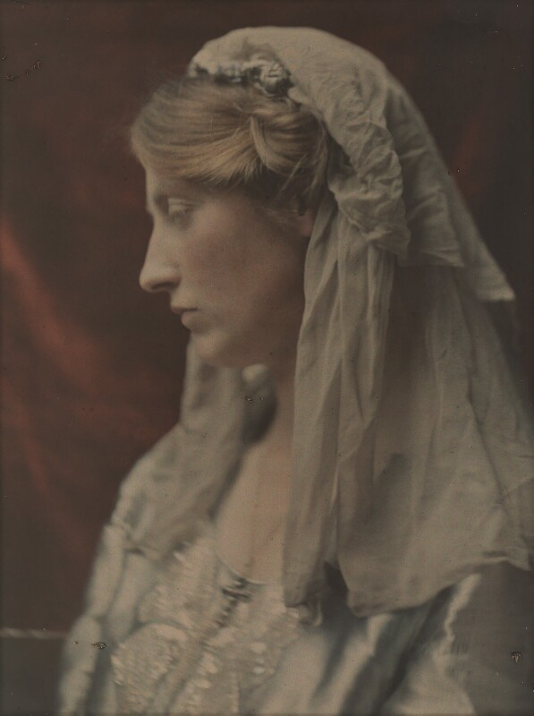 Katharine Legat (née Edis), by (Mary) Olive Edis (Mrs Galsworthy), 1910s - NPG x45517 - © National Portrait Gallery, London