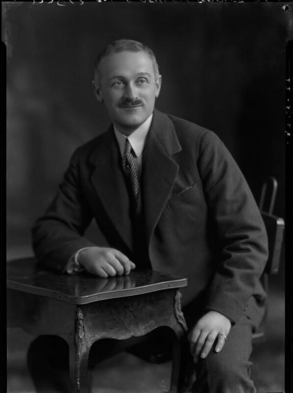Henry Ashley-Scarlett, by Lafayette (Lafayette Ltd), 22 May 1928 - NPG x42504 - © National Portrait Gallery, London