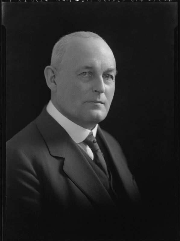John Babington Macaulay Baxter, by Lafayette (Lafayette Ltd), 29 June 1928 - NPG x42565 - © National Portrait Gallery, London