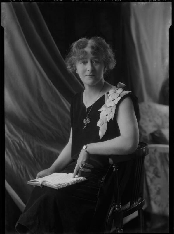 Barbara Helen Seton Arnould (née Dury), by Lafayette (Lafayette Ltd), 11 July 1928 - NPG x42582 - © National Portrait Gallery, London