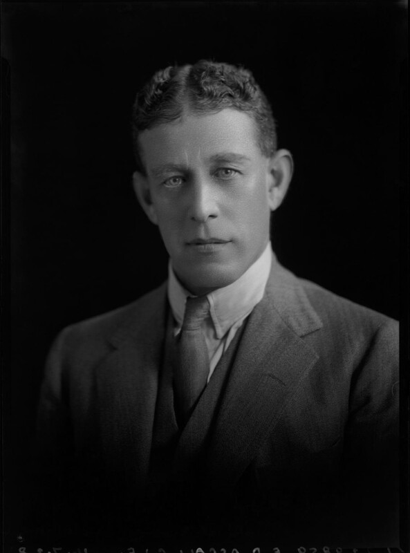 Frank David Ascoli, by Lafayette (Lafayette Ltd), 16 July 1928 - NPG x42601 - © National Portrait Gallery, London