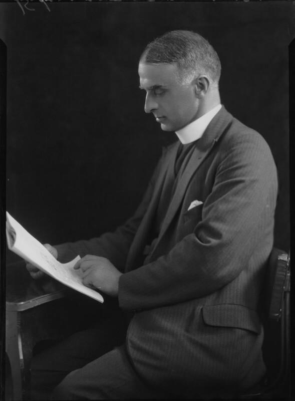 Tom Reginald Frederic Jeffreys, by Lafayette, 18 July 1928 - NPG x42605 - © National Portrait Gallery, London