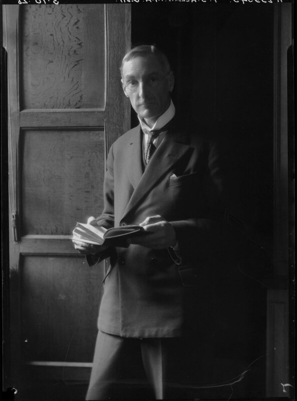 Percy Stafford Allen, by Lafayette (Lafayette Ltd), 3 October 1928 - NPG x42828 - © National Portrait Gallery, London