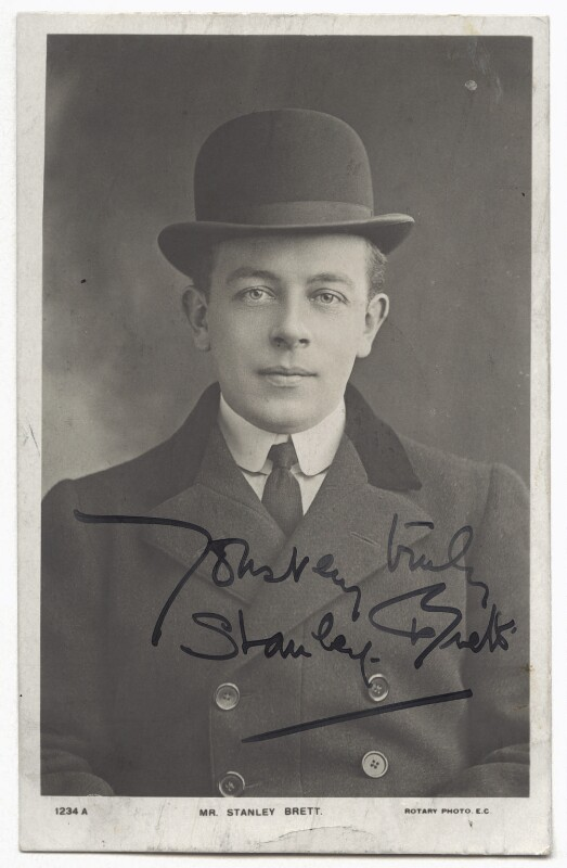 Stanley Brett, published by Rotary Photographic Co Ltd, 1900s - NPG x4287 - © National Portrait Gallery, London