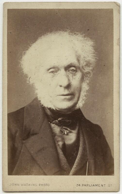 Sir David Brewster, by John Watkins, 1860s - NPG x4291 - © National Portrait Gallery, London